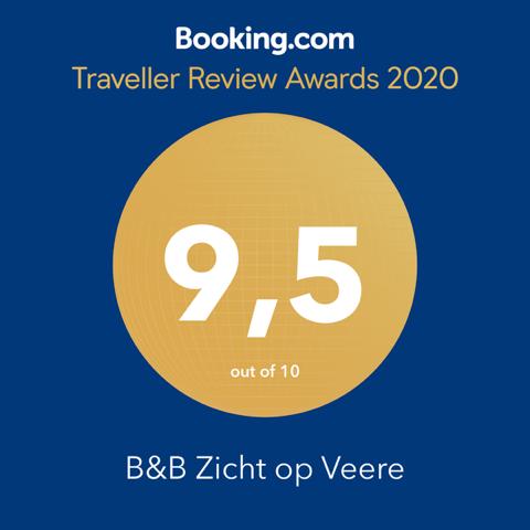 Booking.com score 9.5